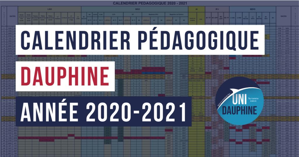 Calendrier Universitaire Paris 4 2021 2022 Calendrier pédagogique Dauphine 2020 2021 | Uni Dauphine