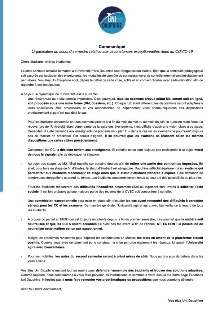 Communiqué_Covid19_Uni_Dauphine_27032020-723x1024 ⚠️ Communiqué du 27 mars 2020 ⚠️